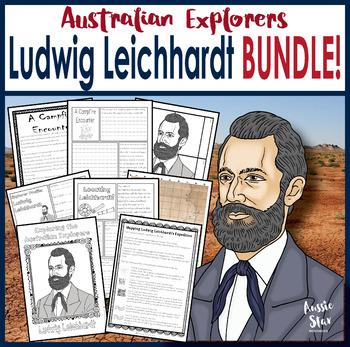 Australian Explorers - Ludwig Leichhardt BUNDLE SAVE 30%