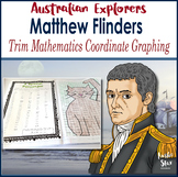 Australian Explorers  Matthew Flinders Maths Coordinates Activity