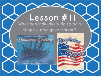 Grade 5 Journeys Focus Wall Lesson 11