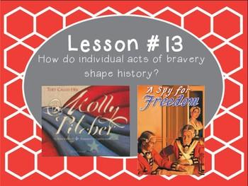 Grade 5 Journeys Focus Wall Lesson 13
