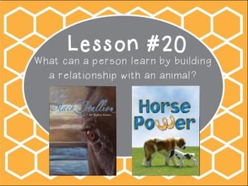 Grade 5 Journeys Focus Wall Lesson 20