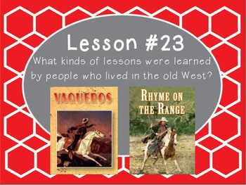 Grade 5 Journeys Focus Wall Lesson 23