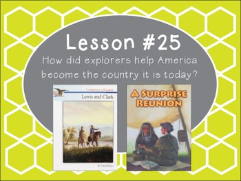 Grade 5 Journeys Focus Wall Lesson 25