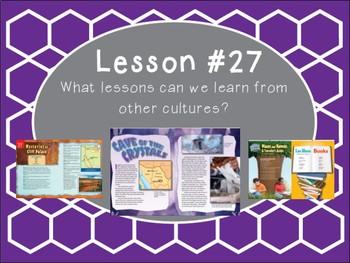 Grade 5 Journeys Focus Wall Lesson 27