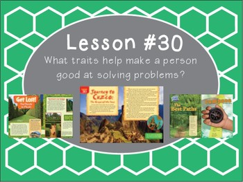 Grade 5 Journeys Focus Wall Lesson 30