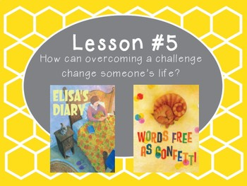 Grade 5 Journeys Focus Wall Lesson 5