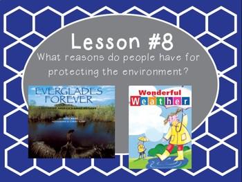 Grade 5 Journeys Focus Wall Lesson 8