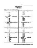 Grade 5 Journeys Lesson 1 Spelling Test