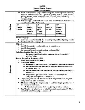 Journeys Unit 1 Lesson 1 Bundle