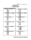 Grade 5 Journeys Lesson 2 Spelling Test & Practice