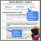 Grade 5 - Junior - SCIENCE - Report Card Comment Bank -