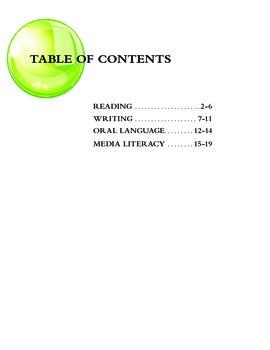 Grade 5 Language Comment Builder