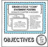 Grade 5 Learning Objectives - GOMath Chapter 4 Aligned (Mu