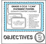 Grade 5 Learning Objectives - GOMath Chapter 5 Aligned (Di