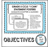 Grade 5 Learning Objectives - GOMath Chapter 6 Aligned (+