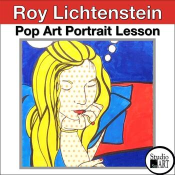 Grade 5 Lichtenstein Inspired Pop Art Portraits