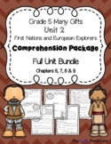 Grade 5 Many Gifts, Unit 2 - First Nations & European Explorers Full Unit Bundle
