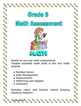 Grade 5 Math Assessment