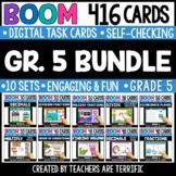 Grade 5 Math Bundle Boom Cards | Distance Learning