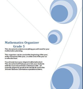 Grade 5 Math, CA Content Standards, Common Core Standards, Midyear Evaluation