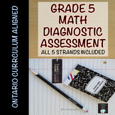 ONTARIO MATH: GRADE 5 MATH DIAGNOSTIC ASSESSMENT