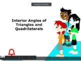 Grade 5: Math: Interior Angles of Triangles & Quadrilatera