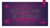 Grade 5 Math Leap Review