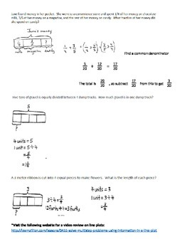 Grade 5 Math Major Concepts