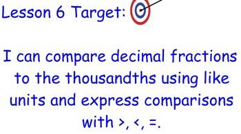 Grade 5 Math Module 1 Lesson 6
