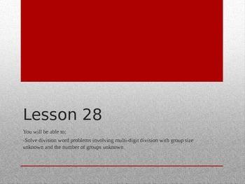 Grade 5 Math Module 2 Lesson 28