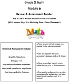 Grade 5, Math Module 6 REVIEW & ASSESSMENT w/Ans keys (pri