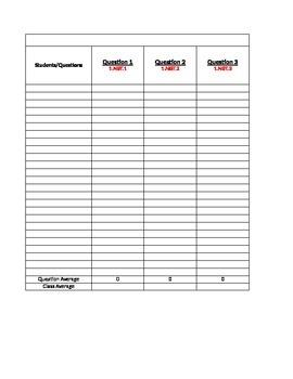 Grade 1 Math Module Assessment Grading System