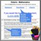 Report Card Comments - MATH - Ontario Grade 5