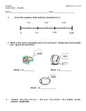 Grade 5 Math SOL 5.1, 5.2 Assessment:   Equality