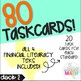 Grade 5 Math STAAR Test Prep Task Cards DECK 2: FINANCIAL LITERACY Bundle!