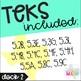 Grade 5 Math STAAR Test Prep Task Cards DECK 2: READINESS TEKS BUNDLE!