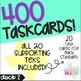 Grade 5 Math STAAR Test Prep Task Cards DECK 2: SUPPORTING TEKS Bundle!