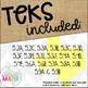 Grade 5 Math STAAR Test-Prep Task Cards SUPPORTING TEKS Bundle!