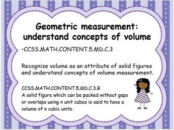Grade 5 Math Standards