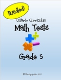 Grade 5 Math Test Bundle