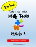 Grade 5 Math Test Bundle - EDITABLE