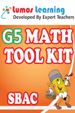 Grade 5 Math Tool Kit for Educators, SBAC Edition