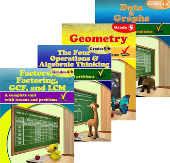 Grade 5 Math Units Bundle
