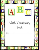 Grade 5 Math Vocabulary Book