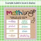 Grade 5 Math Vocabulary cards / Maths language / Australian curriculum aligned