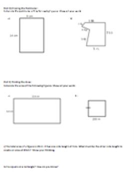 Grade 5 Measurement- Unit Assessment or Review