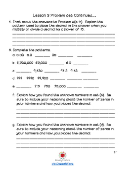 Grade 5 Math Module 1 KID FRIENDLY Workbook