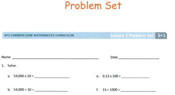 Grade 5 Module 1 Lesson 2