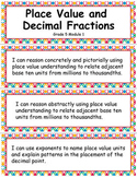 Grade 5 Module 1: Place Value and Decimal Fractions, I CAN