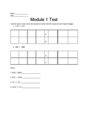 Grade 5 Module 1 Test Eureka/Engage NY